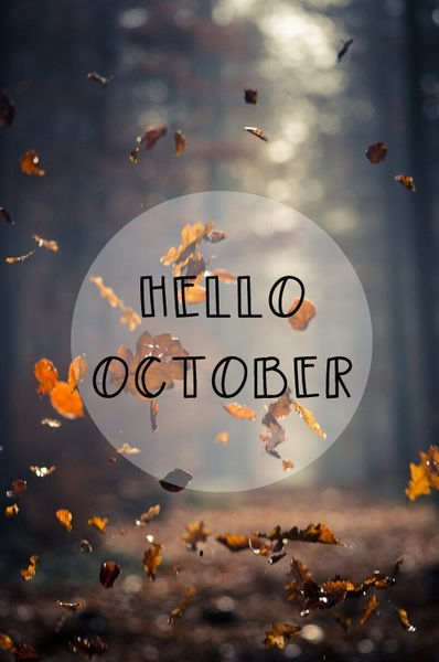Hello October Tumblr Quotes