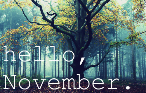 Images For Hello November Tumblr