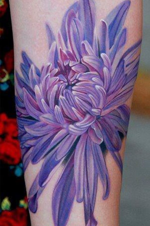 November Birth Flower Tattoo Pictures