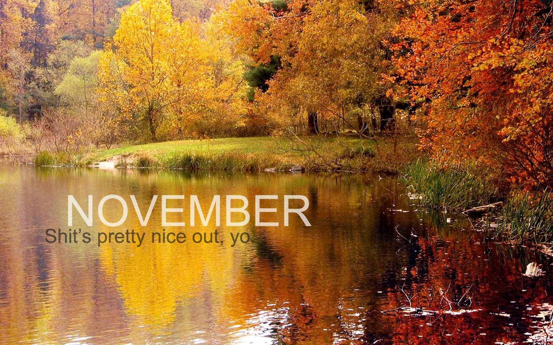 November HD Wallpapers