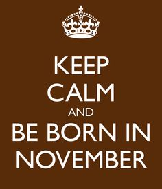 November Happy Birthday Images For Whatsapp