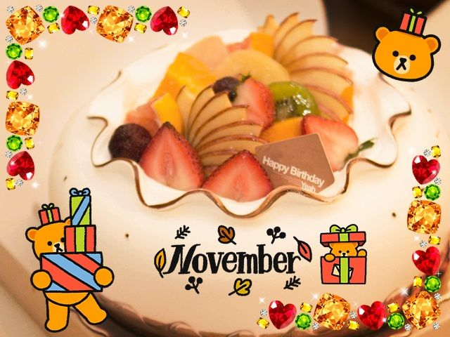 November Happy Birthday Images Pictures