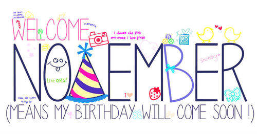 November Happy Birthday Images Quotes