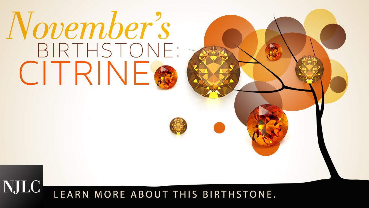 November Month Birthstone Pictures