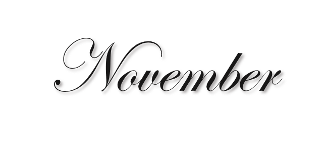 November Pictures PNG