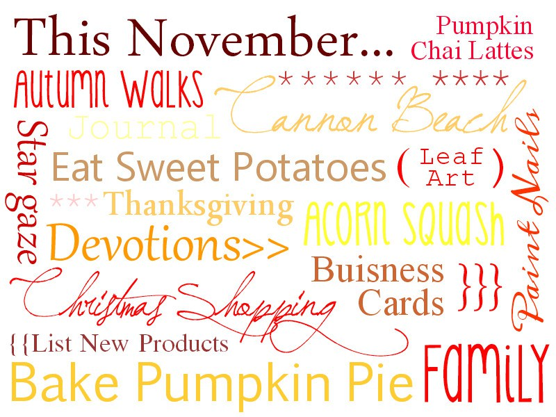 November Quotes And Poems