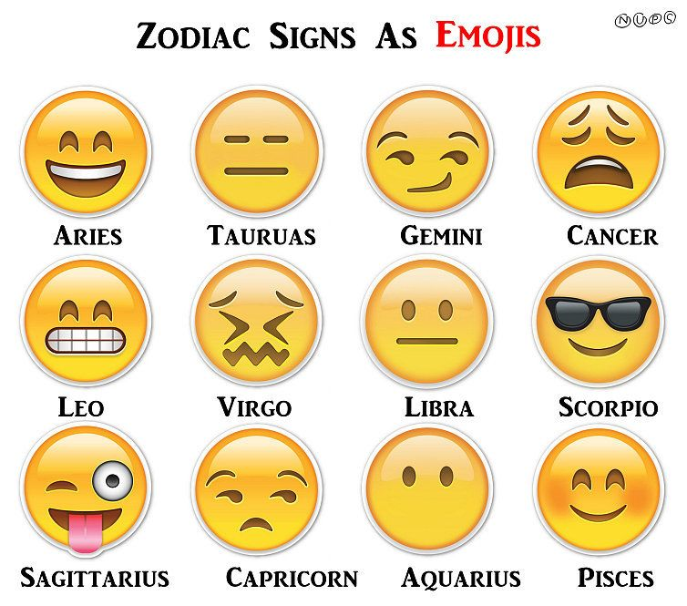 November Zodiac Sign Emoji