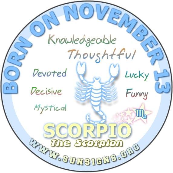 November Zodiac Sign Scorpio