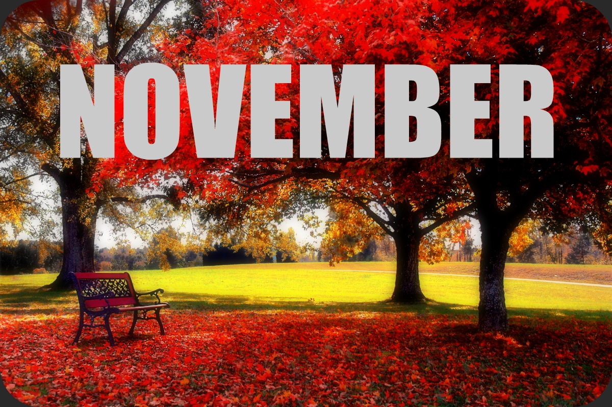 Say Goodbye October Hello November HD Pics