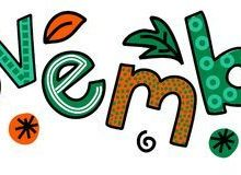 Welcome November Clipart