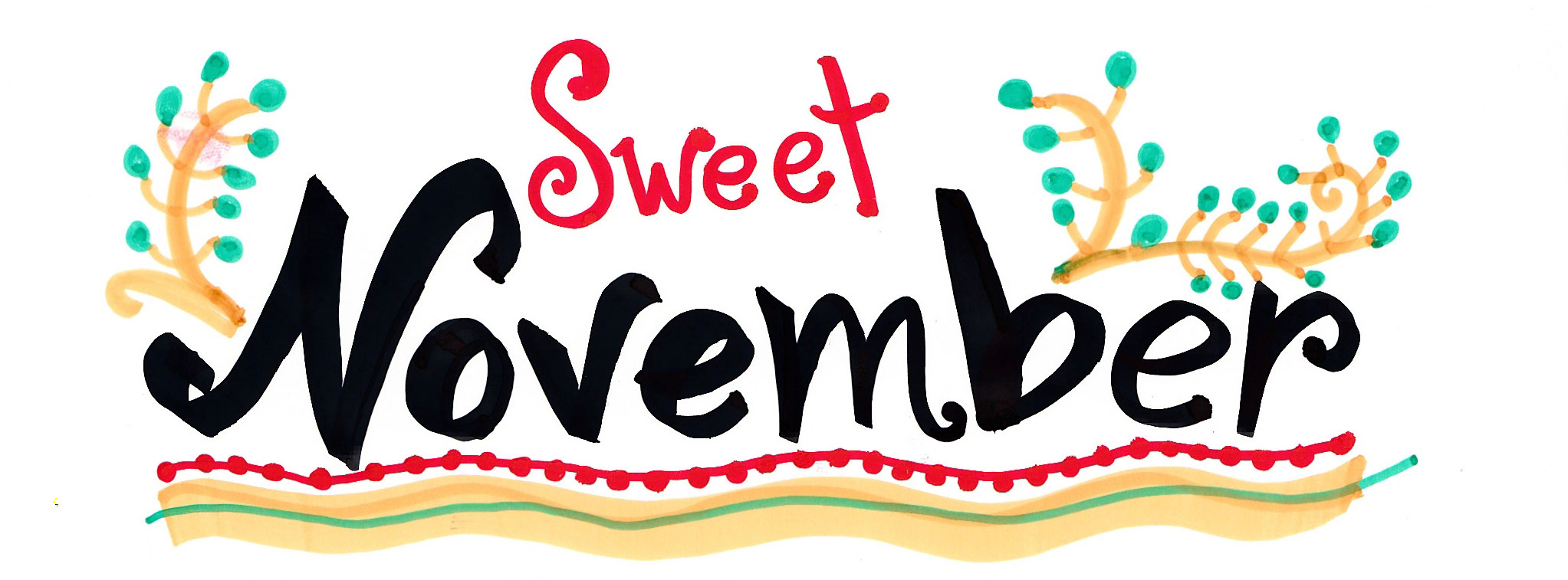 Welcome November Facebook Cover Photos