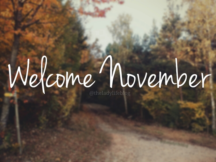 Welcome November Facebook Cover Pics