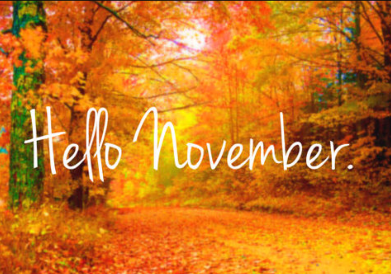 Welcome November HD Images