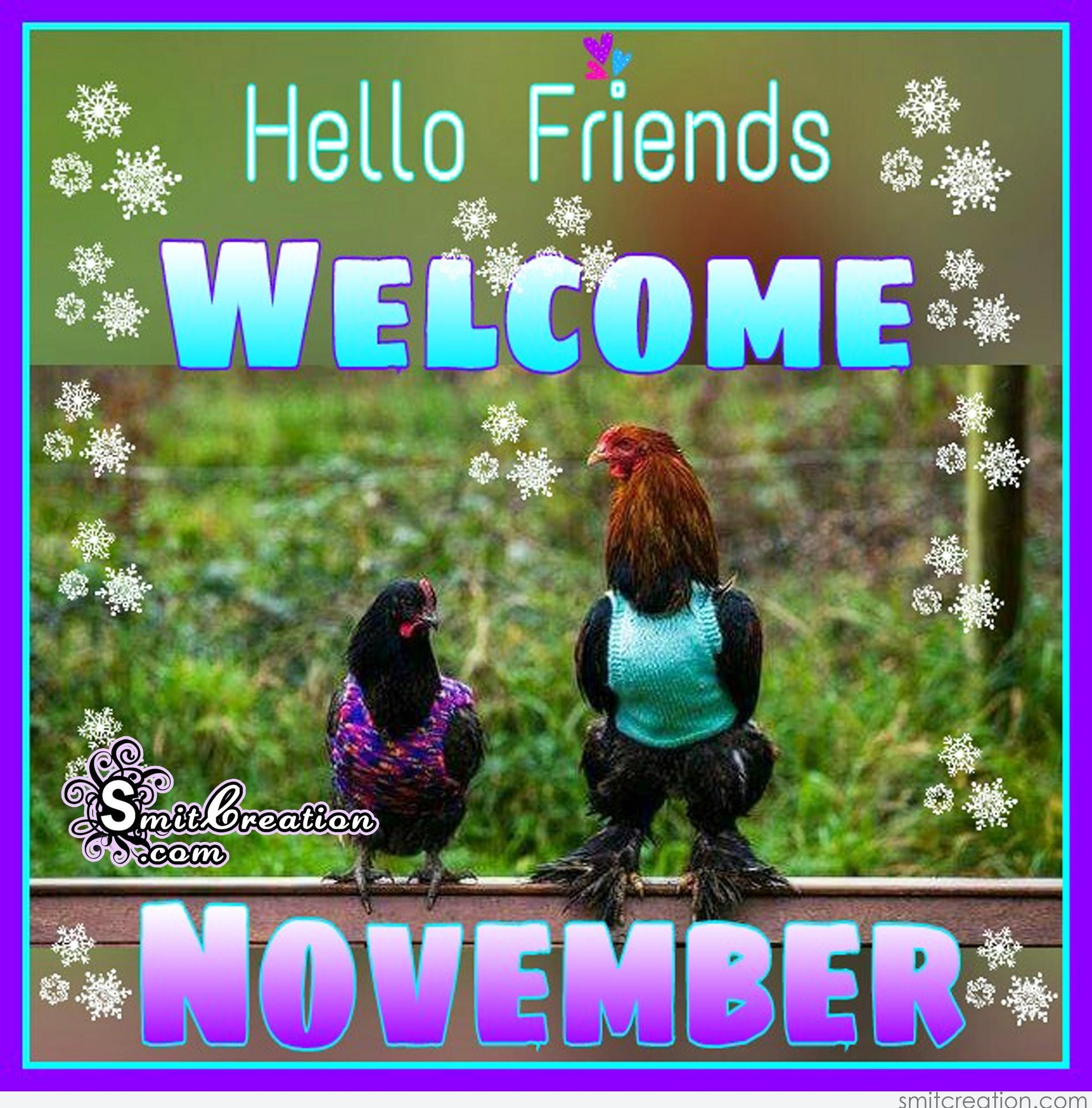 Welcome November Images Free