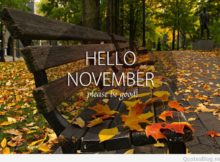 Welcome November Photos Please Be Good