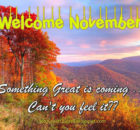 Welcome November Pics Quotes
