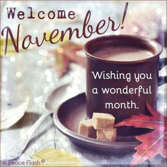 Welcome November Pictures Quotes