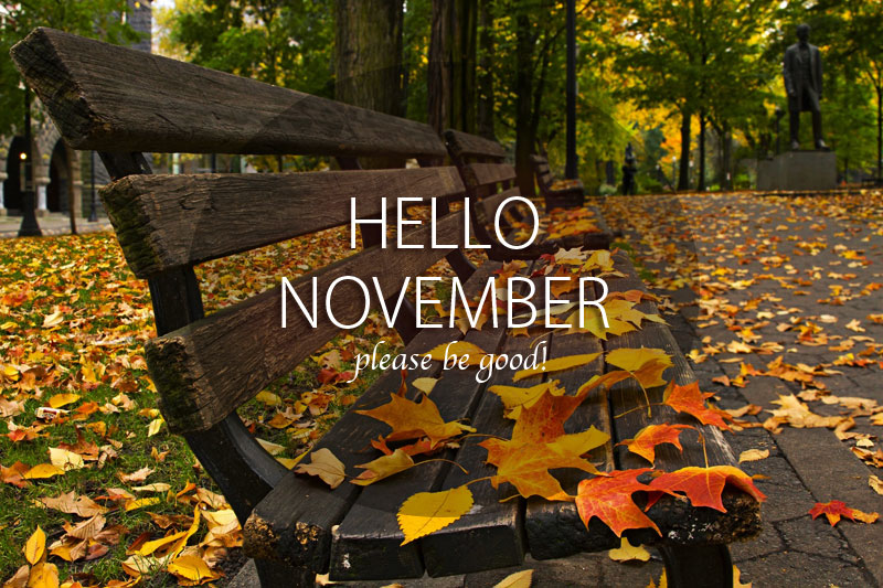 Welcome November Quotes Images