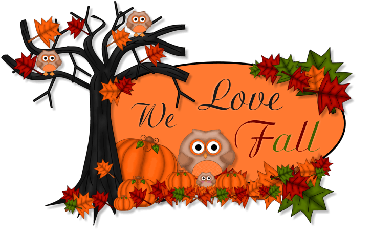 Welcome November Thanksgiving Clipart