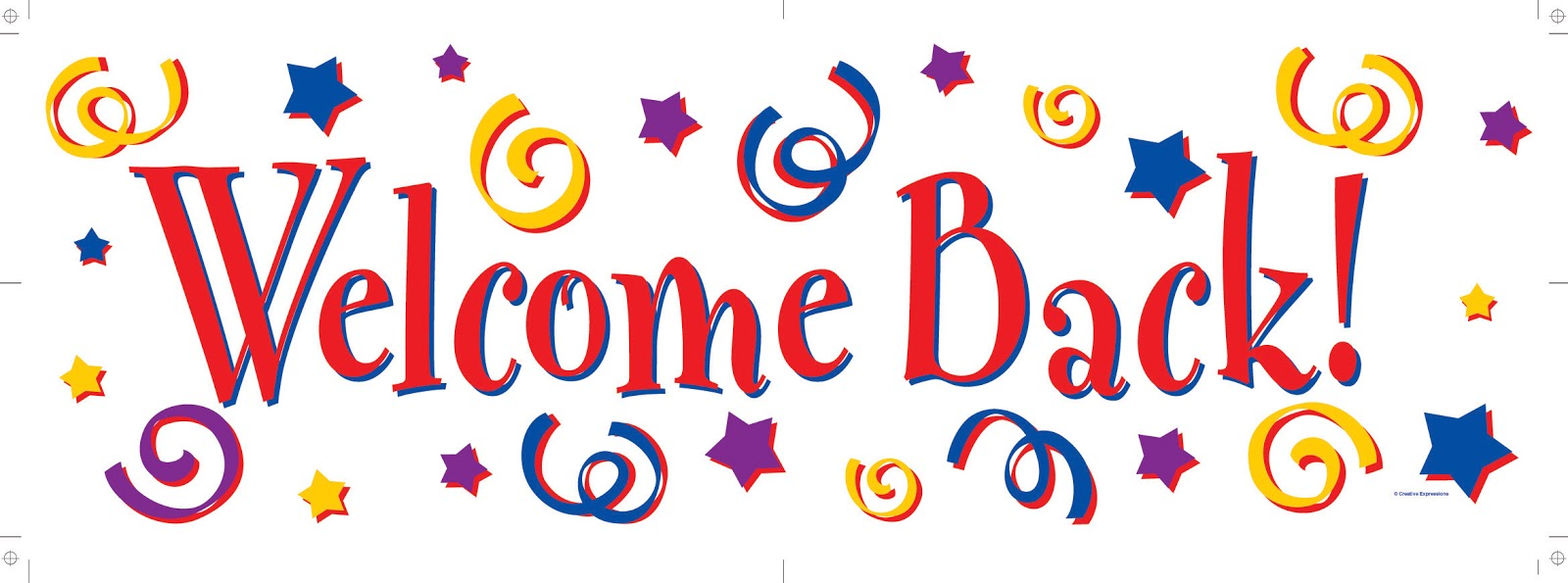 Welcome October Clipart Banner