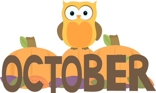 Welcome October Clipart