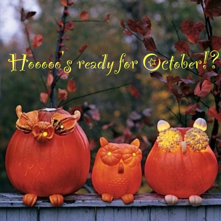 Welcome October Halloween Photos