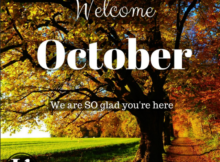 Welcome October Photos Free Download