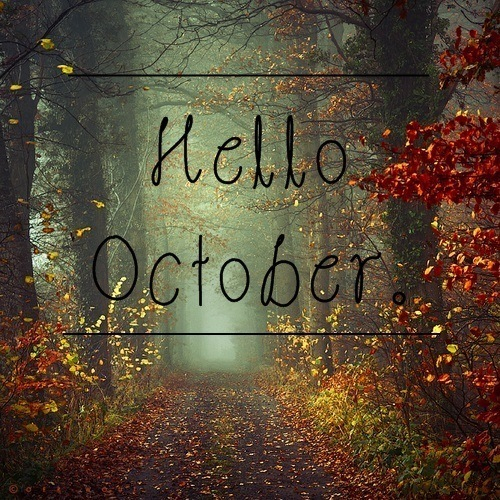 Welcome October Photos