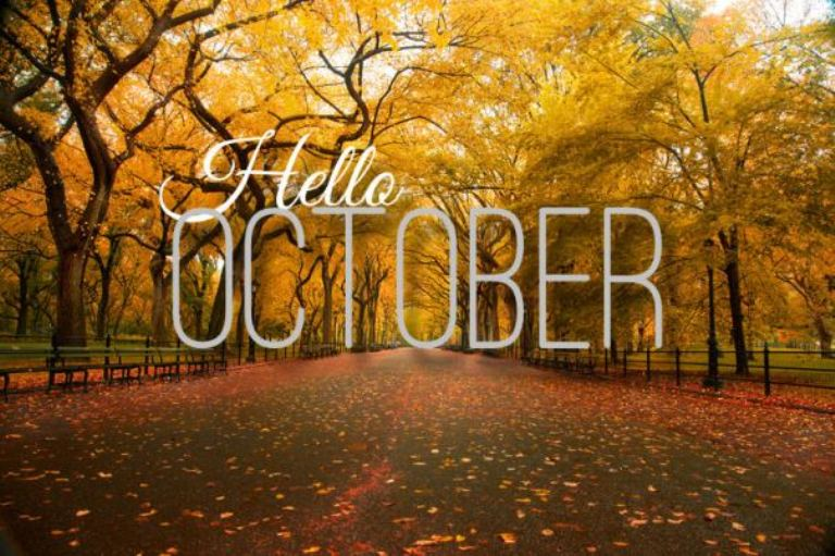 Welcome October Pics for Facebook