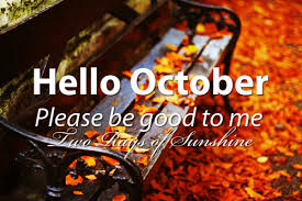 Welcome October Wallpaper Free