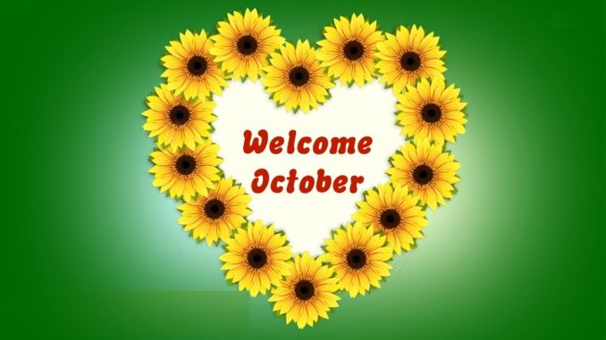 Welcome October Wallpaper Pictures