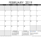 February 2019 Philippines Calendar