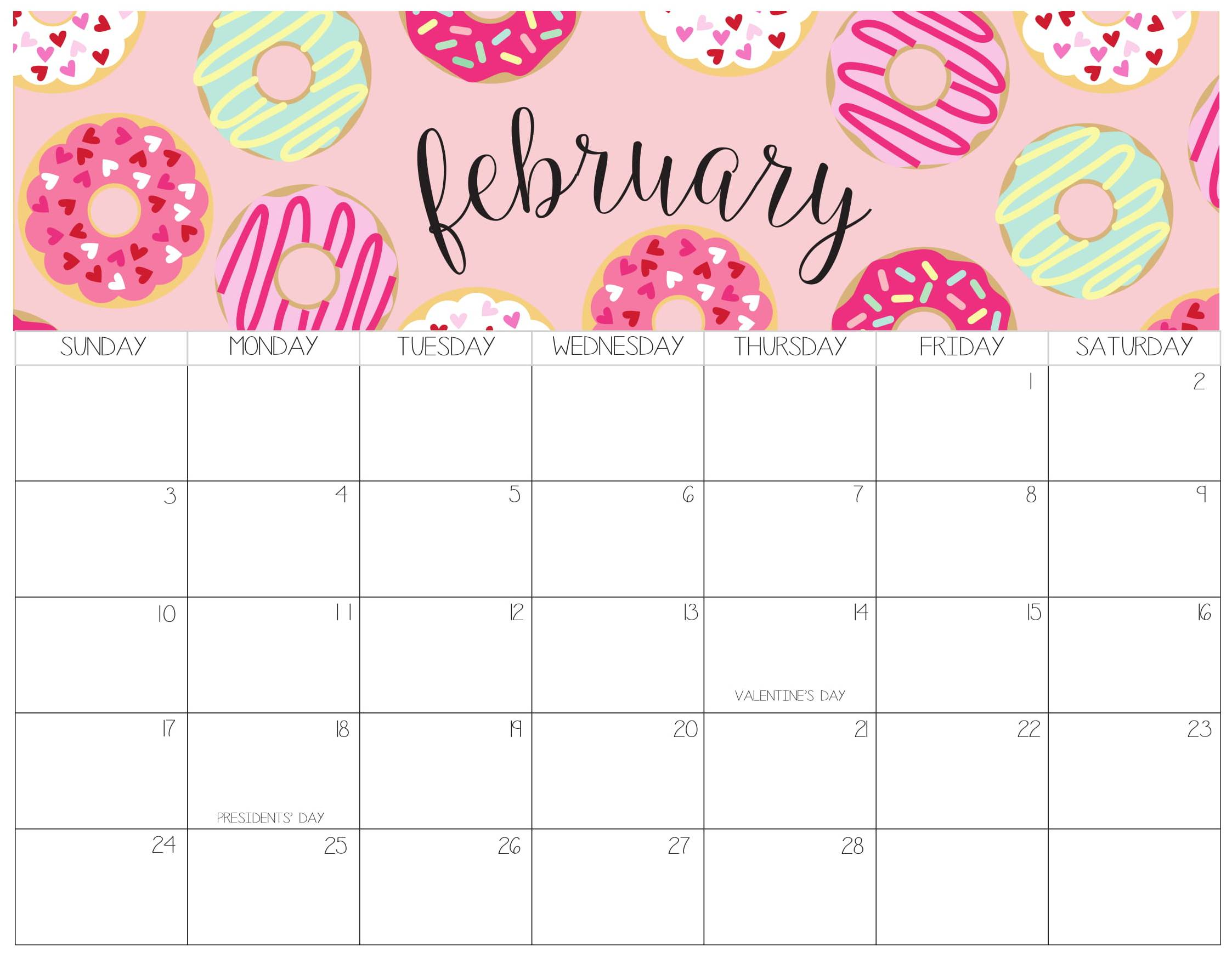 Three Year Calendar Template 2016 to 2018 - Free Printable ...