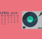Cute April 2019 Wallpaper Calendar