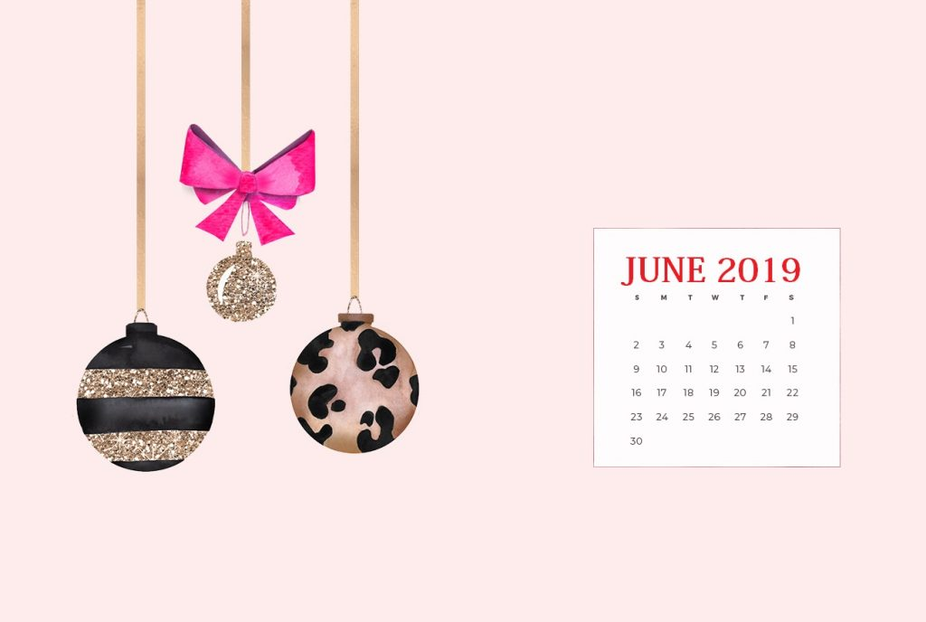 Cute June 2019 Desktop Background