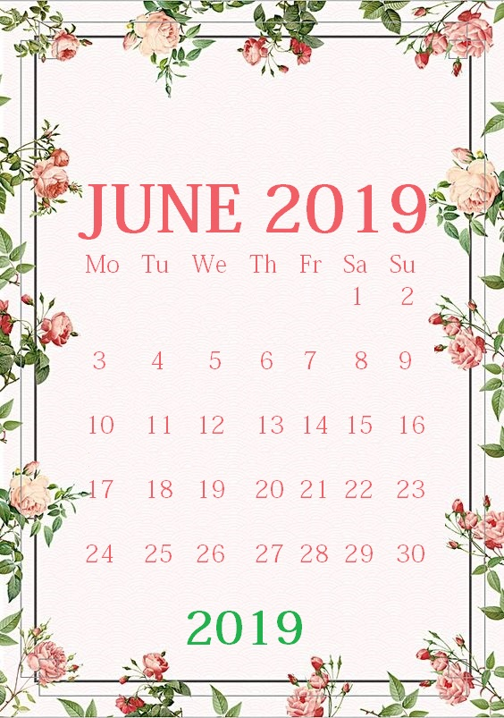 June 2019 iPhone Screensaver