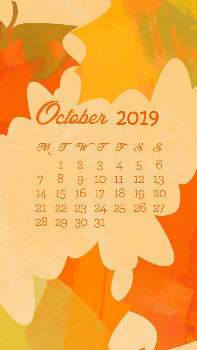 Latest October 2019 iPhone Wallpaper