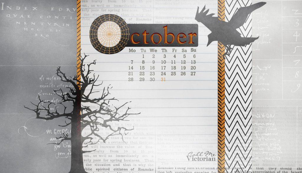 October 2019 Wallpaper With Calendar
