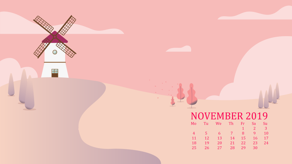 Beautiful November 2019 Wallpaper