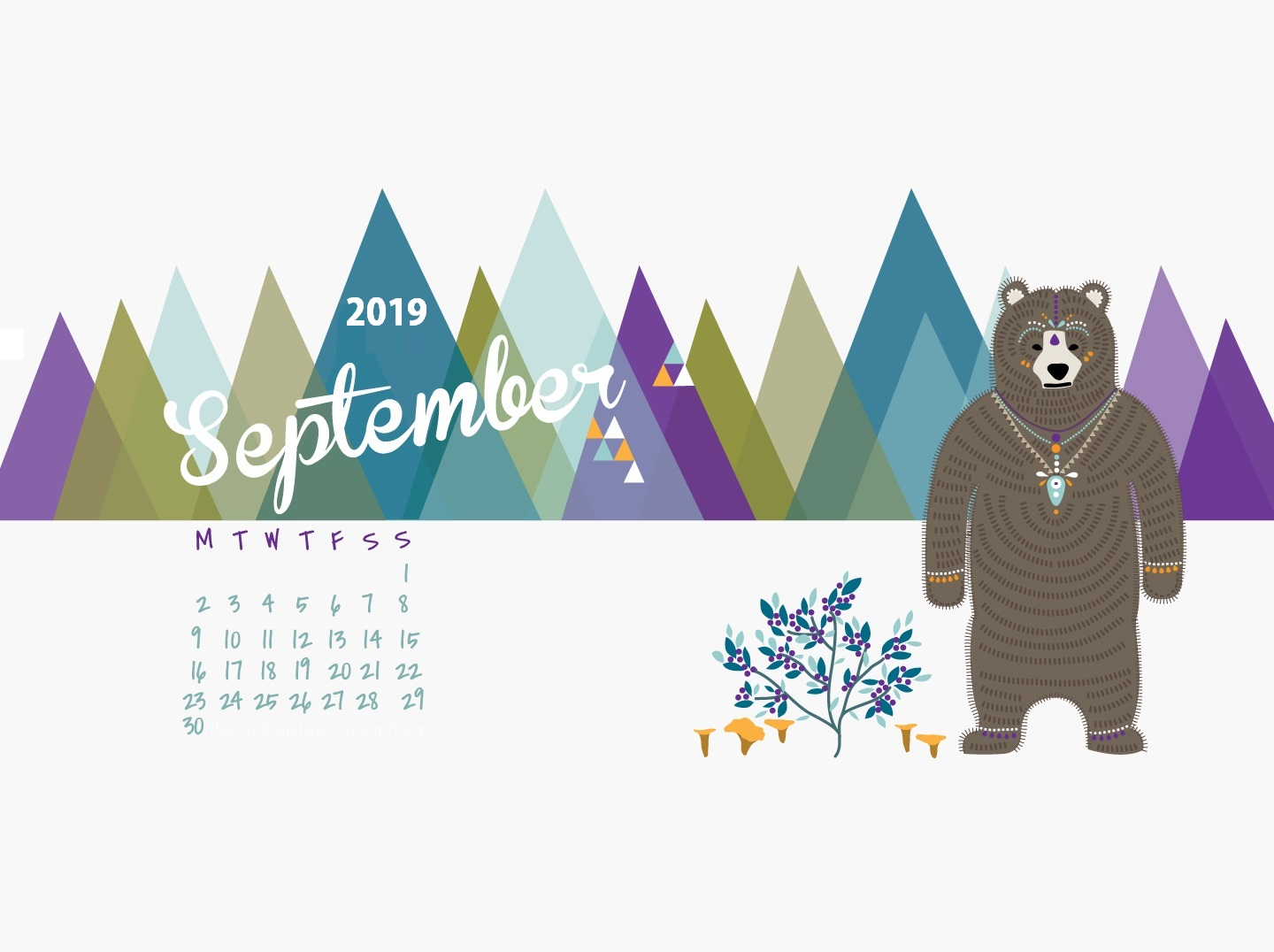 Download September 2019 Desktop Wallpaper