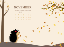 November 2019 Calendar HD Wallpaper