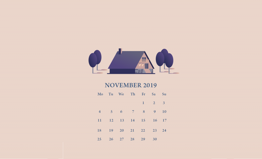 November 2019 Wallpaper With Calendar