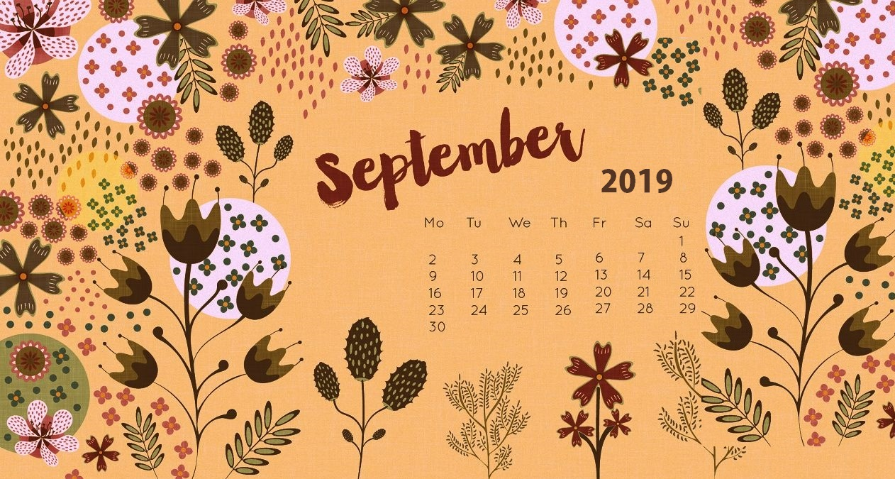 September 2019 Desktop Screensaver