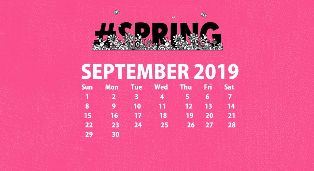 September 2019 Wallpaper For Desktop