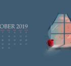 October 2019 Calendar For Desktop
