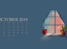 October 2019 Calendar For Desktop