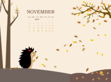 November 2019 Background Screensaver