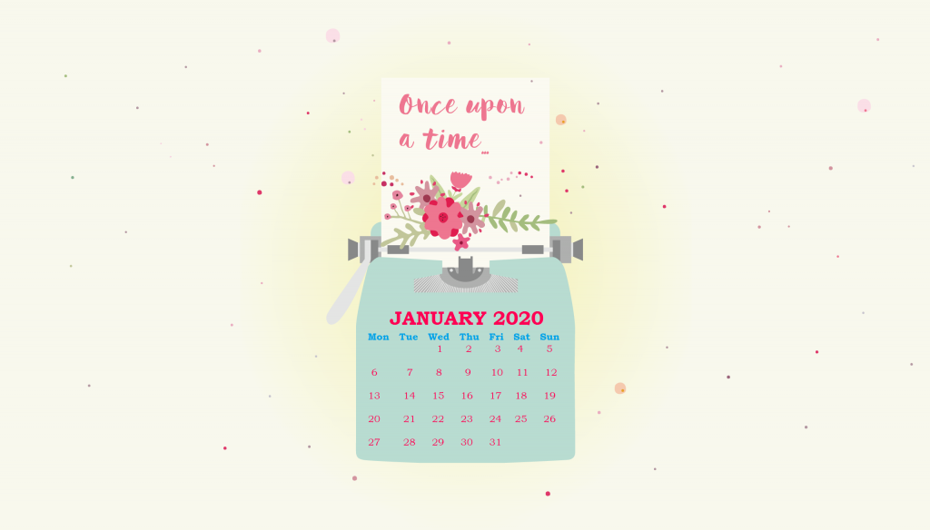 Floral January 2020 Wallpaper