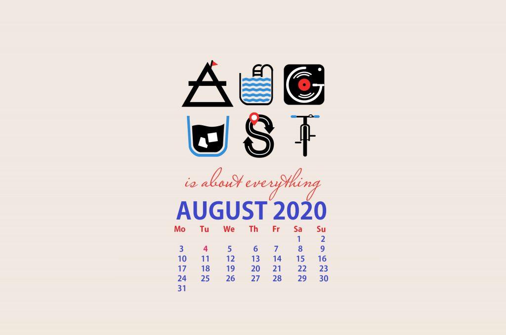 Desktop August 2020 Wallpaper