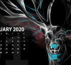 Desktop January 2020 Wallpaper